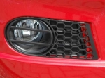 front foglamp accent kit Honycombe type black