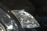 headlight trim chrome