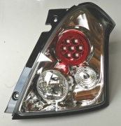 taillight LED clear chrome