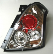 taillight clear chrome