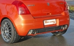rear bumper incl. lights